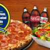 Large pizza 1 item, Large Tossed salad, &#038; 2 liter soda <h6>*MUST MENTION COUPON</h6>